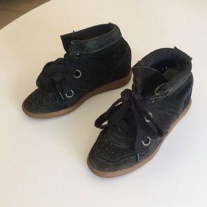 Isabel Marant Bobby wedge sneaker